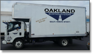 Oakland moving truck
